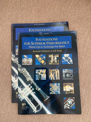 Trumpet and Alto saxophone books for Sale in Tampa, FL