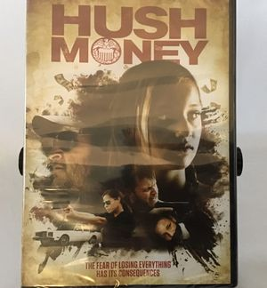 DVD HUSH MONEY, Top Notch Crime Thriller for Sale in Penndel, PA