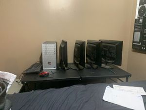 Computer,monitors,speakers,subwoofer for Sale in Marquette Heights, IL