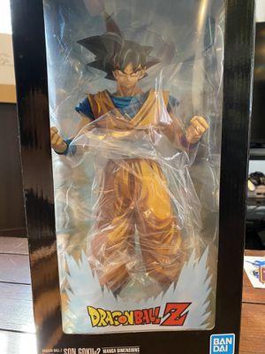 Bandai dragonball z son goku 2 statue / figurine for Sale in Monee, IL