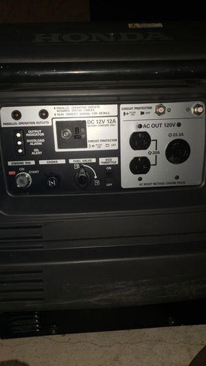 Honda EU 3000 is Generator for Sale in Vista, CA