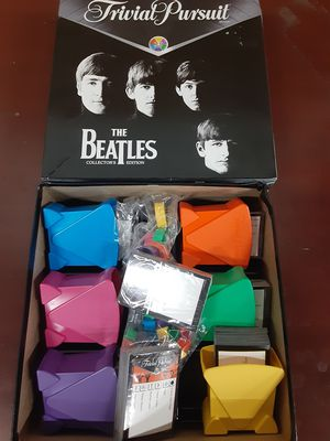 The Beatles Trivia Pursuit Collectors Edition for Sale in Goodyear, AZ