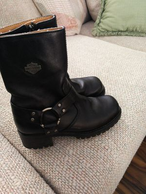Women's motorcycle boots by Harley Davidson. for Sale in Littleton, CO