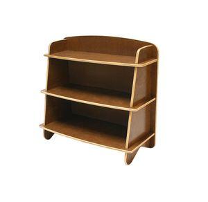 "Used, Ecotots ""big kahuna"" bookcase kids eco friendly modern dark wood bookcase originally $400 for Sale for sale  Brooklyn, NY"