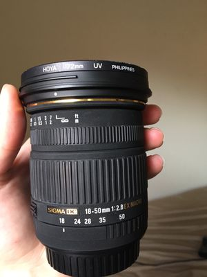Sigma Lens, canon mount for Sale in Vancouver, WA