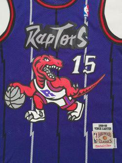 NBA Jersey Carter #15 Raptors Men for Sale in Walnut,  CA