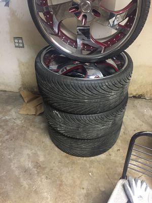 24 Swirl vellano 5/120 for Sale in Chicago, IL