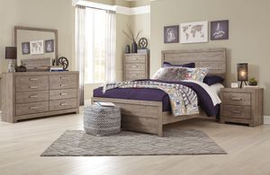 Ashley Furniture Queen Panel Bed for Sale in Garden Grove, CA