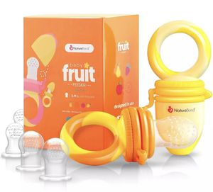 NatureBond Baby Fruit feeder Pacifier 2 Pack Teething Toy for Sale in Newport News, VA