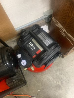 150 psi compressor porter cable for Sale in Salinas, CA
