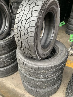 265/70/17 set of Cooper tires installed for Sale in Rancho Cucamonga, CA