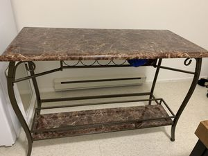 Bar table with two bar stools for Sale in Pemberton, NJ