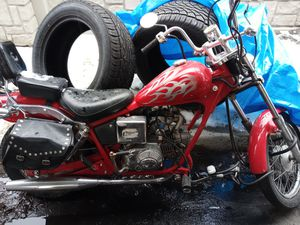 Johnny Pagsta 110cc mini chopper only 760 miles on it for Sale in Salt Lake City, UT