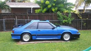 1989 FORD MUSTANG GT for Sale in Miami, FL