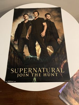 Group of Posters - Supernatural, Frozen, Firefly, Justin Bieber for Sale in West Hollywood, CA