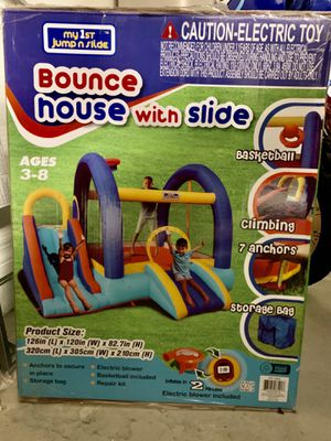 Kids Bounce House with Slide for Sale in Gibsonton, FL
