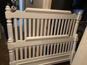 Full Size White Bed for Sale in Cordova, TN
