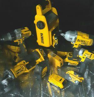 Miscellaneous Dewalt 20v cordless power tools for Sale in Hemet, CA