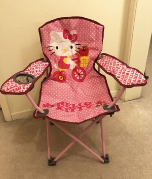 Brand new Hello Kitty fold N' go kid's chair for Sale in Arcadia, CA