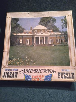 Antique AMERICANA Jigsaw Puzzle for Sale in Northfield, NH