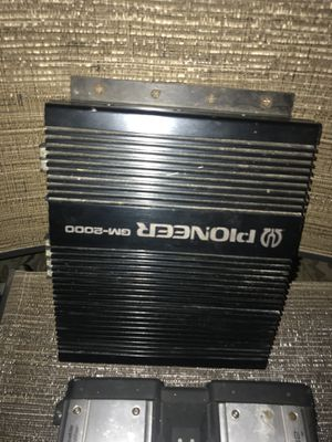 Car audio ...amps, eq,speakers , head units( single and double din)and more for Sale in Pevely, MO