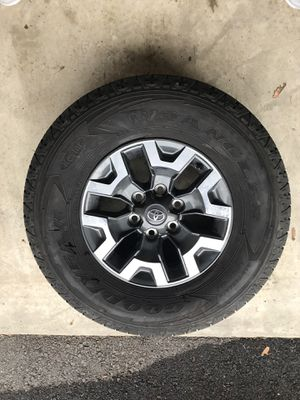 TRD rims and tires. 265/70 R16 for Sale in Edgewood, WA