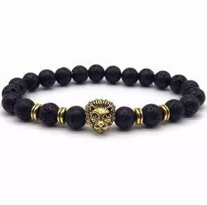 Lion Bracelet 8mm Gold or Silver for Sale in Niles, IL