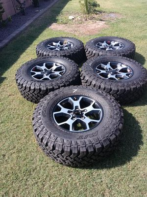 New 17s stock wheels & tires of 2020 jeep rubicon for Sale in Glendale, AZ