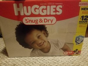 Huggies size 5 for Sale in Detroit, MI