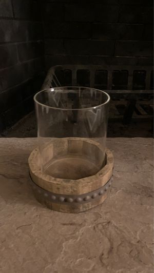 Rustic candle holder for sale! for Sale in Oregon City, OR