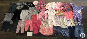 Lot J - Girls clothing 12 months for Sale in Lake Elsinore, CA