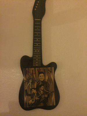 Elvis guitar clock antique for Sale in Las Vegas, NV