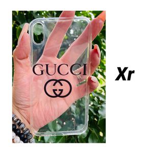 Brand new cool iphone XR case cover silicone rubber Clear transparent see through for Sale in San Bernardino, CA