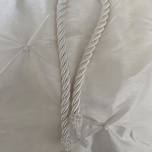 White Lined Drapes for Sale in Chantilly, VA