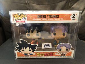 Funko Pop Dragonball Z Goten Trunks Fusion Dance 2018 Funimation Exclusive for Sale in Yorba Linda, CA