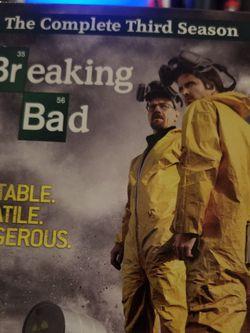 Breaking Bad Season 3 DVD Set for Sale in Richmond,  TX