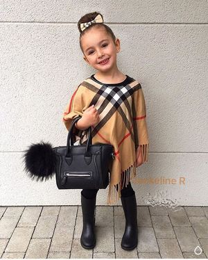Little girls Plaid Poncho for Sale in Miami, FL