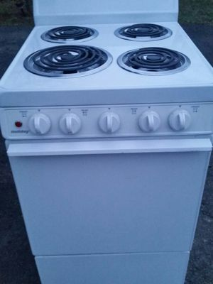 Brand new apartment size electric stove 4 months warranty for Sale in Alexandria, VA