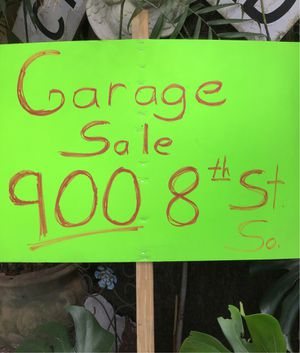 Garage sale. 20 years of stuff. 900 8th street south, Saint Petersburg (Roser Park neighborhood) . Saturday & Sunday 8am-2pm for Sale in St. Petersburg, FL