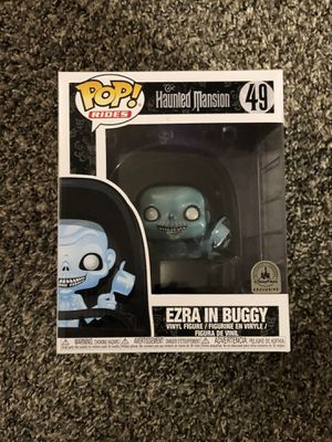Funko POP Rides Disney Parks Exclusive Haunted Mansion Ezra in Buggy for Sale in Clovis, CA