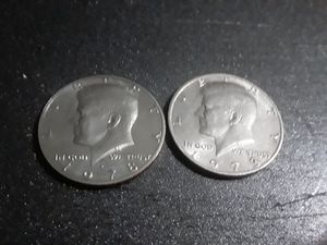 1973 and 1978 Kennedy half dollars fg mint mark for Sale in Largo, FL