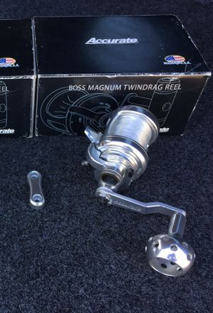 Accurate Boss Magnum Twin-Drag B-270C Fishing Reel for Sale in Fullerton, CA