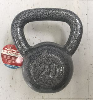Single 20lbs Kettlebell Brand New for Sale in West Covina, CA