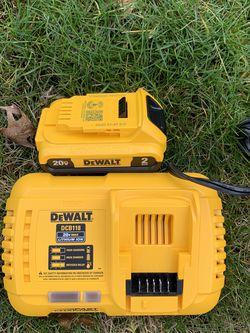 Dewalt Fast Charger & 2ah Battery for Sale in Portland,  OR
