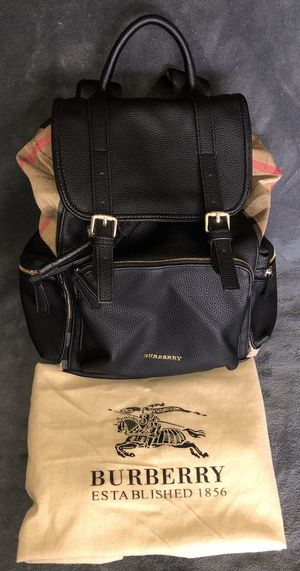 BURBERRY leather/cotton backpack for Sale in Dallas, TX