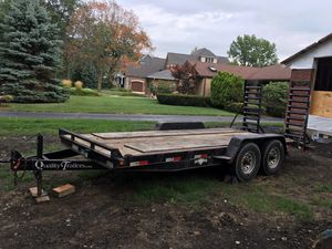 14k 2015 quality trailer for Sale in Western Springs, IL