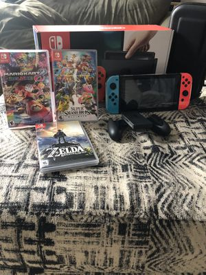 Nintendo Switch with Games for Sale in Wadsworth, OH