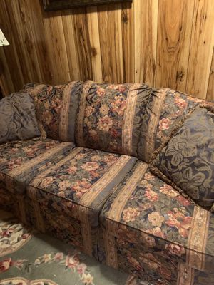 Sofa bought at Goods Furniture. Sturdy frame! for Sale in Carlisle, PA