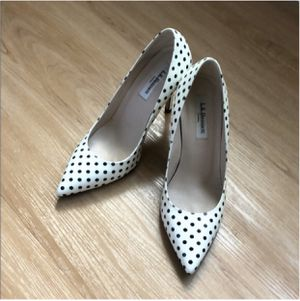 Polka dot heels for Sale in Vancouver, WA