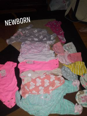 Baby Clothes and diapers for Sale in Auburndale, FL